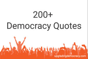 200 Democracy Quotes