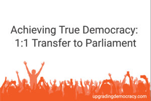 1 to 1transfer to parliament
