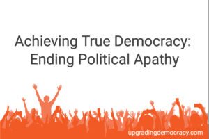 Ending Political Apathy
